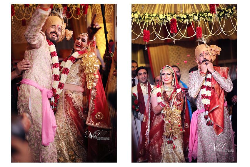 Pictures Of Singer Akriti Kakar And Chirag Arora S Wedding
