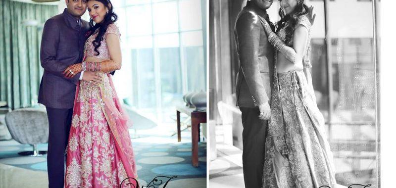 Arjun and Vanshika engagement cermony