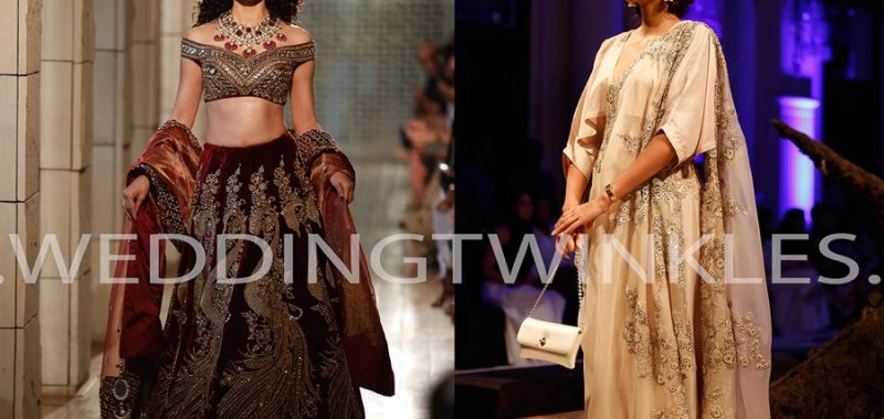 Top 5 designers of ICW 2016 with awe inspiring bridal trousseau collection