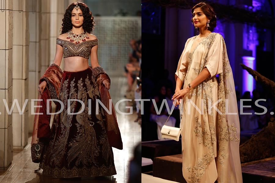 a0bf79415c0c Top 5 designers of ICW 2016 with awe inspiring bridal trousseau collection