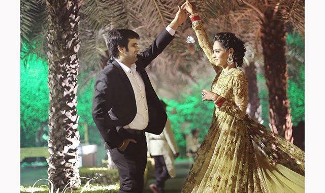 Manisha & Akhil - Reception party.