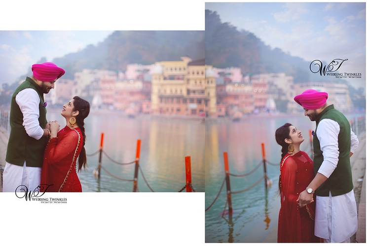 pre wedding photo album in Haridwar