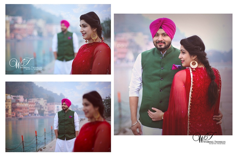 pre wedding photo album in Haridwar